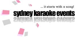 Sydney Karaoke Events | ...it starts with a song!
